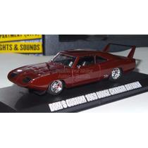 1:43 Dodge Charger Daytona 1969 Rapido Y Furioso Greenlight