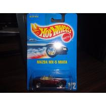 1991 Hot Wheels Blue Card Mazda Mx-5 Miata #172