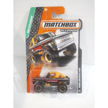 Matchbox On A Mission Ford Bronco 4x4 Negro 113/120