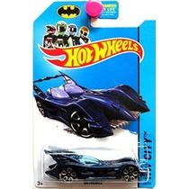 Hot Wheels 75 Aniversario Batman 2014 Hw Ciudad Azul Batmobi
