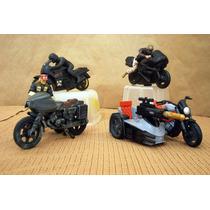 Lee Anunc Xgi Joe Lote 4 Moto Snarlercycle Ram & Ninja S/fig