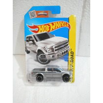 Hot Wheels Camioneta 15 Ford F-150 Gris 119/250 2015
