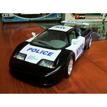 1991 Bugatti 110 Eb Nypd Police Tuning 1/18