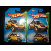 2 T-hunt Hot Wheels Baja Beetle 11/12. 2010 Con Error