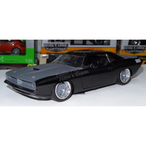 1:24 Plymouth Barracuda 1973 Rapido Y Furioso Jada Display