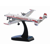 Avión Lockheed L1049g Twa Constellatio Esc 1:300 Model Power