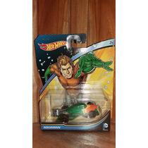 Hot Wheels Aquaman Dc Comics Vehiculo Juguete 1/64