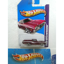 Hot Wheels 72 Ford Ranchero Guinda 163/250 2013