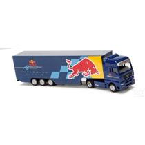 Trailer A Escala .red Bull. Formula 1 Transporte .majorette.