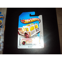 Hotwheels T-hunt Fire-eater Carro Bombero Blanco #19/250!!!