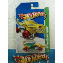 Hot Wheels Dragon Blaster Amarillo/azul 68/250 2013