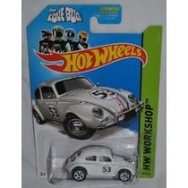 2014 Hot Wheels Hw Taller - Bug Volkswagen Beetle Herbie The