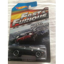Hot Wheels 70 Dodge Charger R/t Rápido Y Furiosos 2015