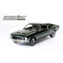 1968 Mustang Gt Bullit Steve Mcqueen Greenlight