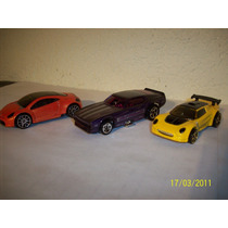 Hot Wheels Lote 3 Coches Lotus Elise Mustang