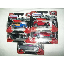 Gcg Coleccion De 5 Autos Basic Maisto Escala 1/64 Bbf