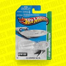 Hot Wheels Enterprise Star Trek Viaje A Las Estrellas
