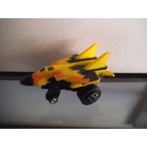 Avion Amarillo Tipo Micro Machines Road Champs Vintage