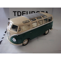 Vw Combi 1962 Esc: 1/24 Kinsmart Autos Escala Coleccion