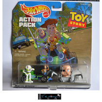 Diorama Toy Story Carro Control Remoto Woody Y Buzz H Wheels