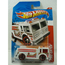 Hot Wheels Camion De Bomberos Fire Eater 222/244 2011 Tl