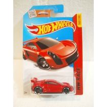 Hot Wheels Mastretta Mxr Rojo 151/250 2015