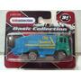 Maisto Camion De Basura Y Limpieza Azul/verde 1/64 Metal