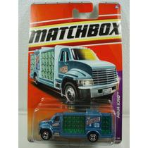 Matchbox Camion Agua Purificada Aqua King Metal