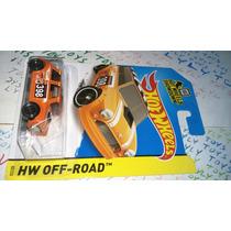 Hot Wheels Mini Morris Naranja Versión Descapotab Lyly Toys