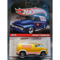 Hot Wheels - Custom 77 Dodge Van Conoco Del 2010