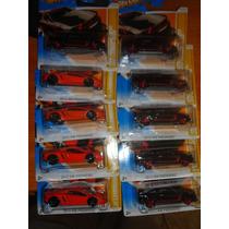 2 Hotwheels Mustang Boss Laguna Seca & Lamborghini Aventador