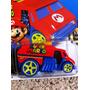 Mario Bros Time Machine Volver Al Futuro Back To The Future