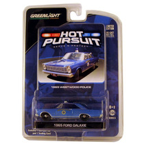 1965 Ford Galaxie Patrulla Westwood Hot Pursuit Greenlight
