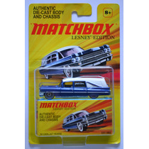 1963 Cadillac Hearse Seríe Lesney Edition Matchbox