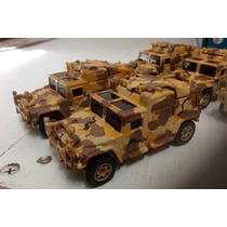 Matchbox Vehiculos Militares Hummer Camuflaje Desierto.