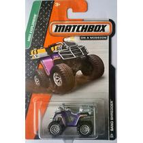 Matchbox - Sand Shredder - Cuatrimoto - 2014