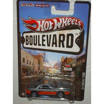 Hot Wheels Boulevard 84 Pontiac Fiero Llantas De Goma