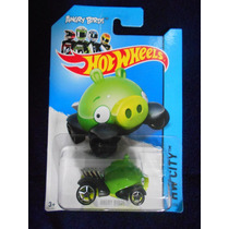 Angry Birds - Hot Wheels - (color Verde)