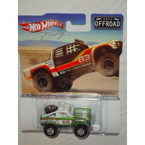Hot Wheels Offroad Racing Custom Ford Bronco Llantas De Goma