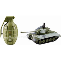 Radiocontrol Mini Tanque T34 1/77 Luz Sonidos Y Movimientos
