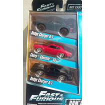 Hot Wheels - Dom`s Rides Fast And The Furious Set 3 Autos