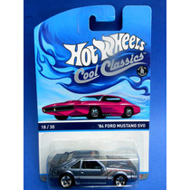 2013 Hot Wheels Spectrafrost 84 Ford Mustang Sv0 Cool Class