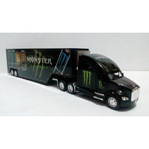 Trairler Kenworht T700 Monster Esc. 1:68