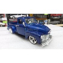 1:24 Chevrolet Pick Up 1953 Azul Jada Toys Display