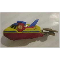 Matchbox * Lancha De Rescate Turbo Speed Mattel