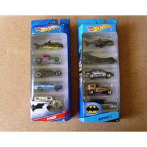Hot Wheels Set Batmobile Coleccion 1/64 Batman