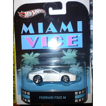 Hot Wheels Retro Ferrari F512 M Miami Vice