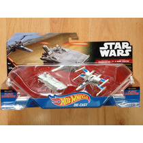 Hot Wheels Star Wars Transporter Vs X-wing The Force Awakens