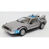 De Lorean Volver Al Futuro Escala 1:18 Hot Wheels