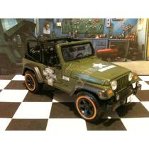Jeep Wrangler Rubicon Maisto Harley Davidson 1/24